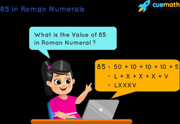 85 in Roman Numerals