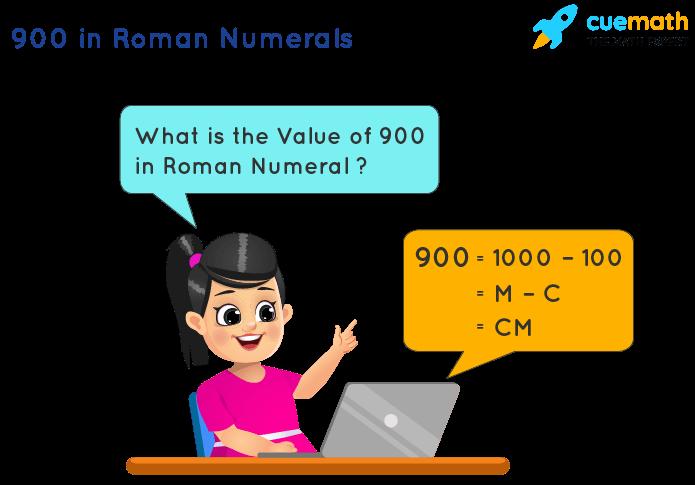 900 in Roman Numerals