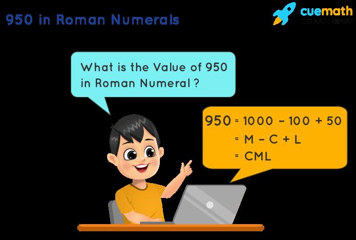 950 in Roman Numerals