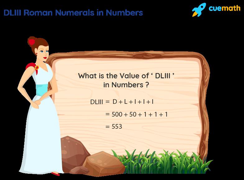 DLIII Roman Numerals