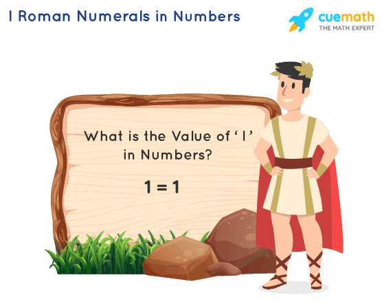 I Roman Numerals