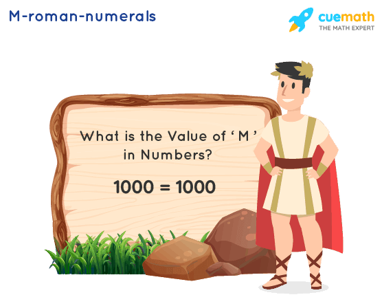 M Roman Numerals
