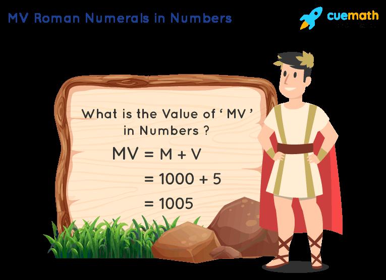 MV Roman Numerals