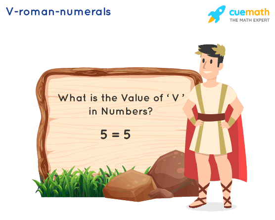 V Roman Numerals