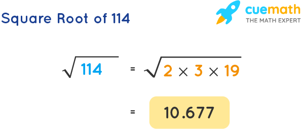 Square Root of 114