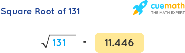 Square Root of 131