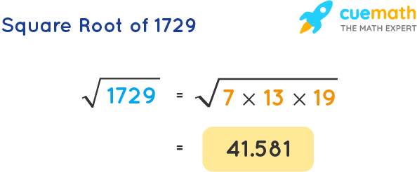 Square Root of 1729